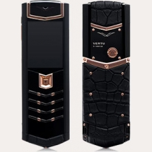 Ремонт сотового телефона Vertu Signature S Design Black PVD Red Gold Alligator в Хабаровске