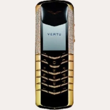 Ремонт сотового телефона Vertu Signature Yellow Gold Half Pave Diamonds в Хабаровске
