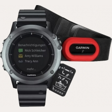 Ремонт умных часов Garmin Fenix 3 Sapphire HRM with Metal Band в Хабаровске