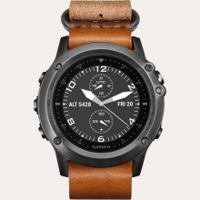 Ремонт умных часов Garmin Fenix 3 Sapphire with grey Leather Strap в Хабаровске