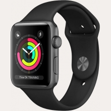 Ремонт умных часов Apple Watch Series 3 38mm Aluminum Case with Sport Band в Хабаровске