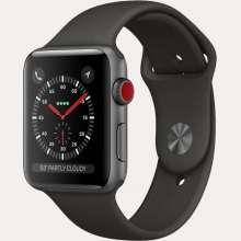Ремонт умных часов Apple Watch Series 3 Cellular 38mm Aluminum Case with Sport Band в Хабаровске