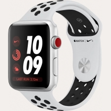 Ремонт умных часов Apple Watch Series 3 Cellular 42mm Aluminum Case with Nike Sport Band в Хабаровске