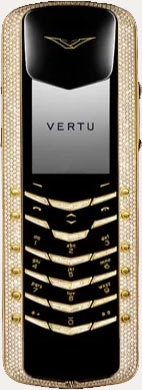 Ремонт сотового телефона Vertu Signature M Design Yellow Gold Pave Diamonds with baguette keys в Хабаровске