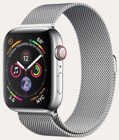 Ремонт умных часов Apple Watch Series 4 GPS + Cellular 44Mm Stainless Steel Case With Milanese Loop в Хабаровске